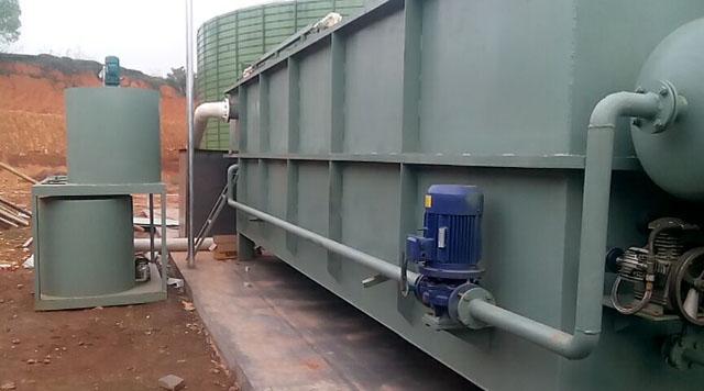 涡凹气浮机在农村得到广泛应用